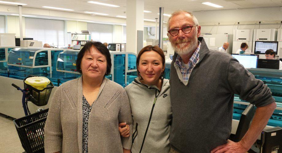 Result Laboratorium bezoek uit Kyrgyzie