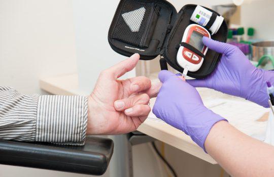 Result Laboratorium glucose bepaling