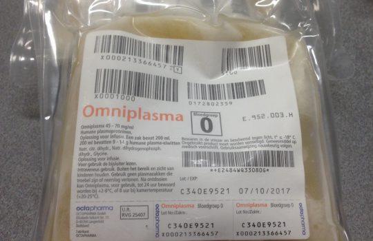 Result laboratorium omniplasma