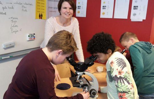 result laborotorium, microscoop, natuurcentrum Gorinchem, Mariëngaarde