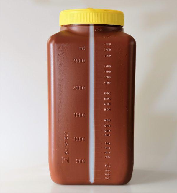 24 uurs urine verzamelen