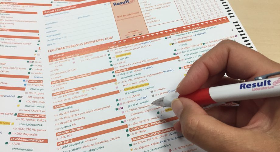 verwijzing, laboratoriumdiagnostiek